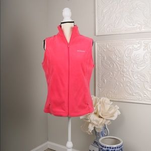 Pink Columbia Fleece Vest